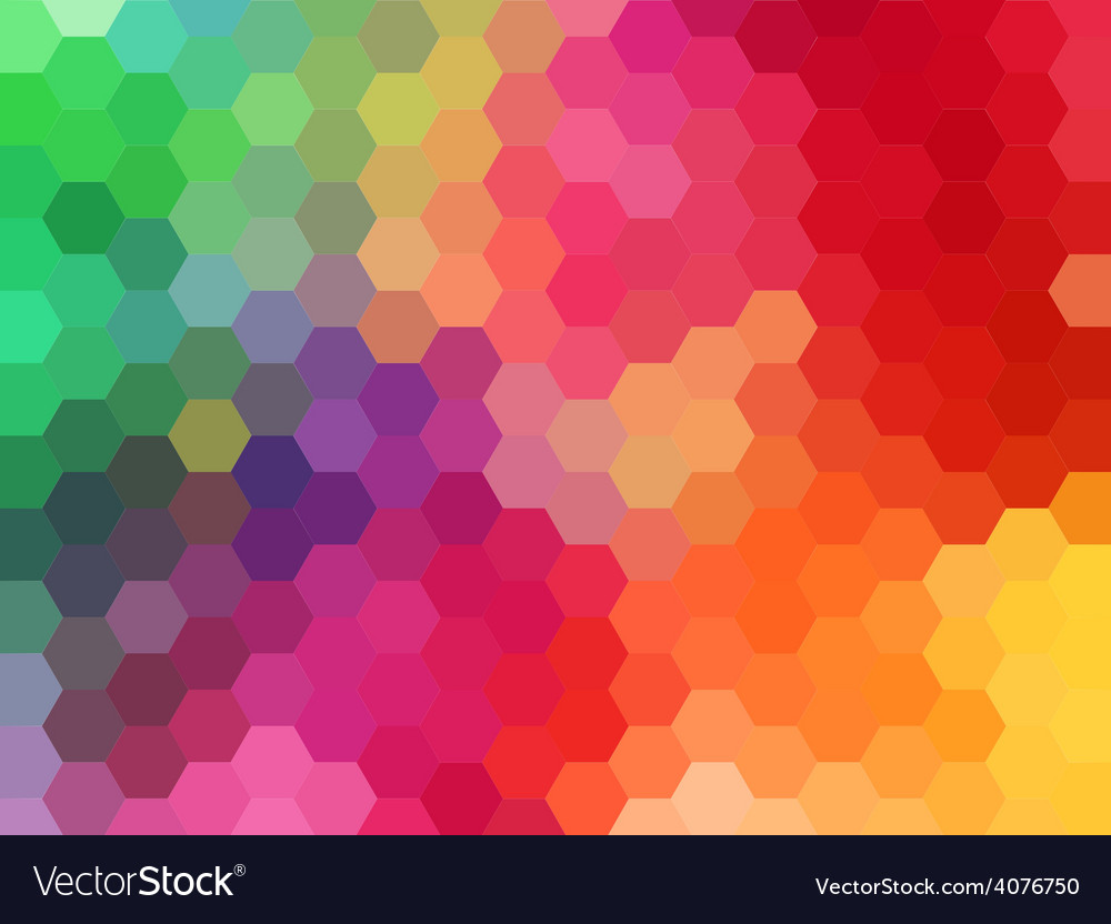 Abstract geometric background hexagon vector | Price: 1 Credit (USD $1)