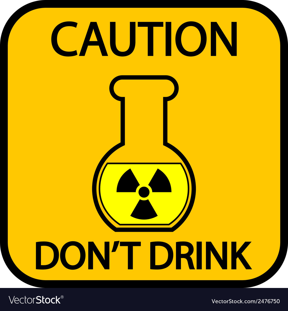 Danger chemicals sign vector | Price: 1 Credit (USD $1)