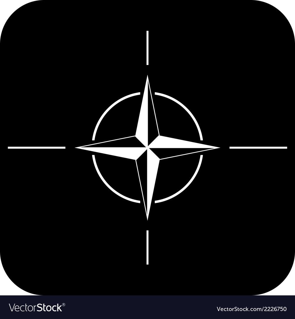 Nato icon vector | Price: 1 Credit (USD $1)