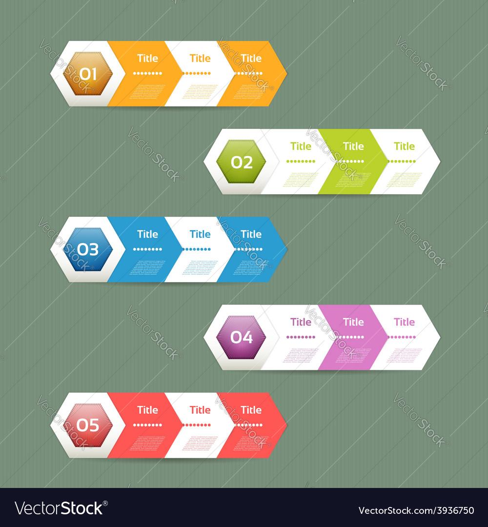 Paper progress background vector | Price: 1 Credit (USD $1)
