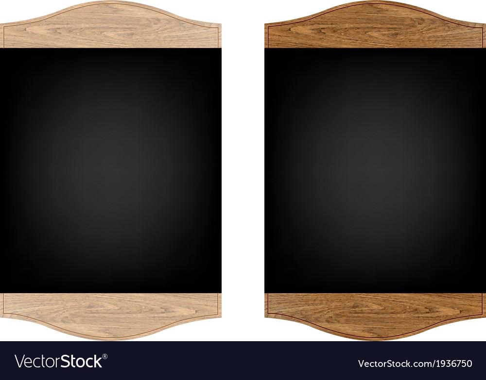 Restaurant menu board set vector | Price: 1 Credit (USD $1)