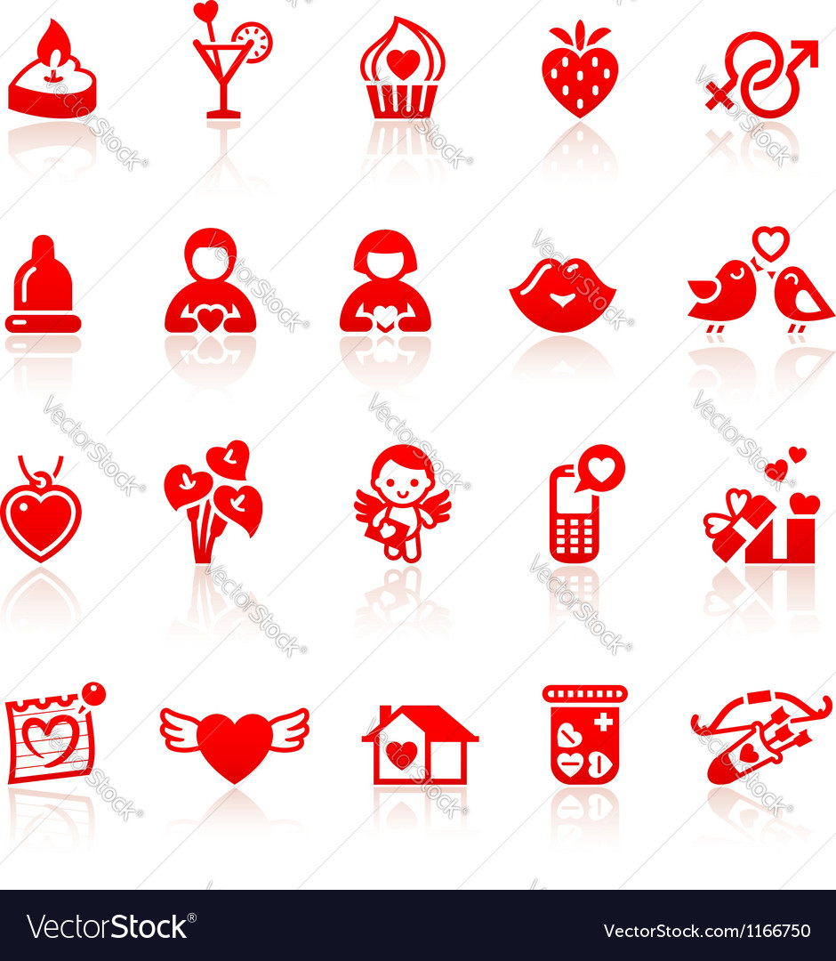 Set valentines day vector | Price: 1 Credit (USD $1)