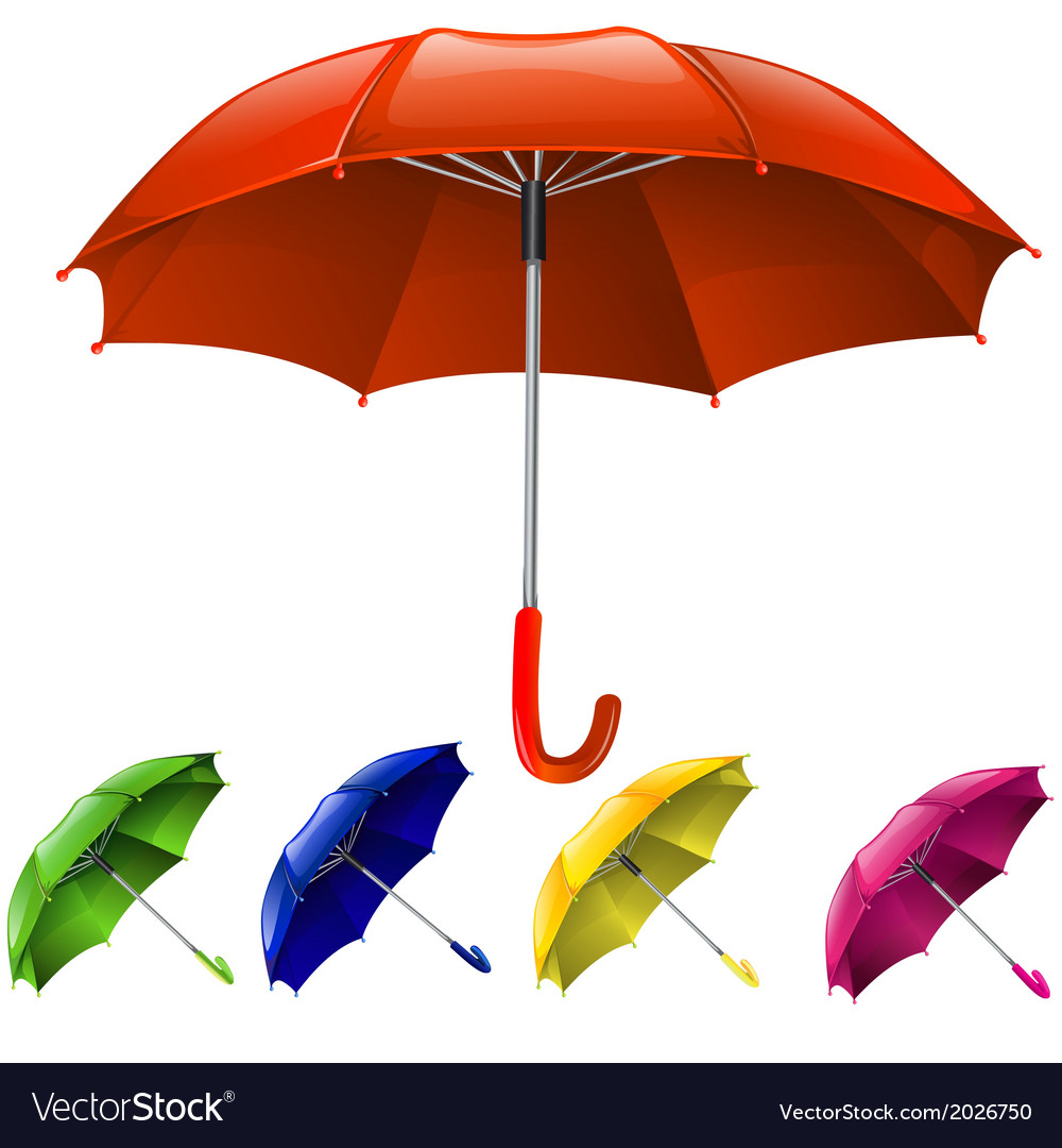 Umbrella design vector | Price: 1 Credit (USD $1)
