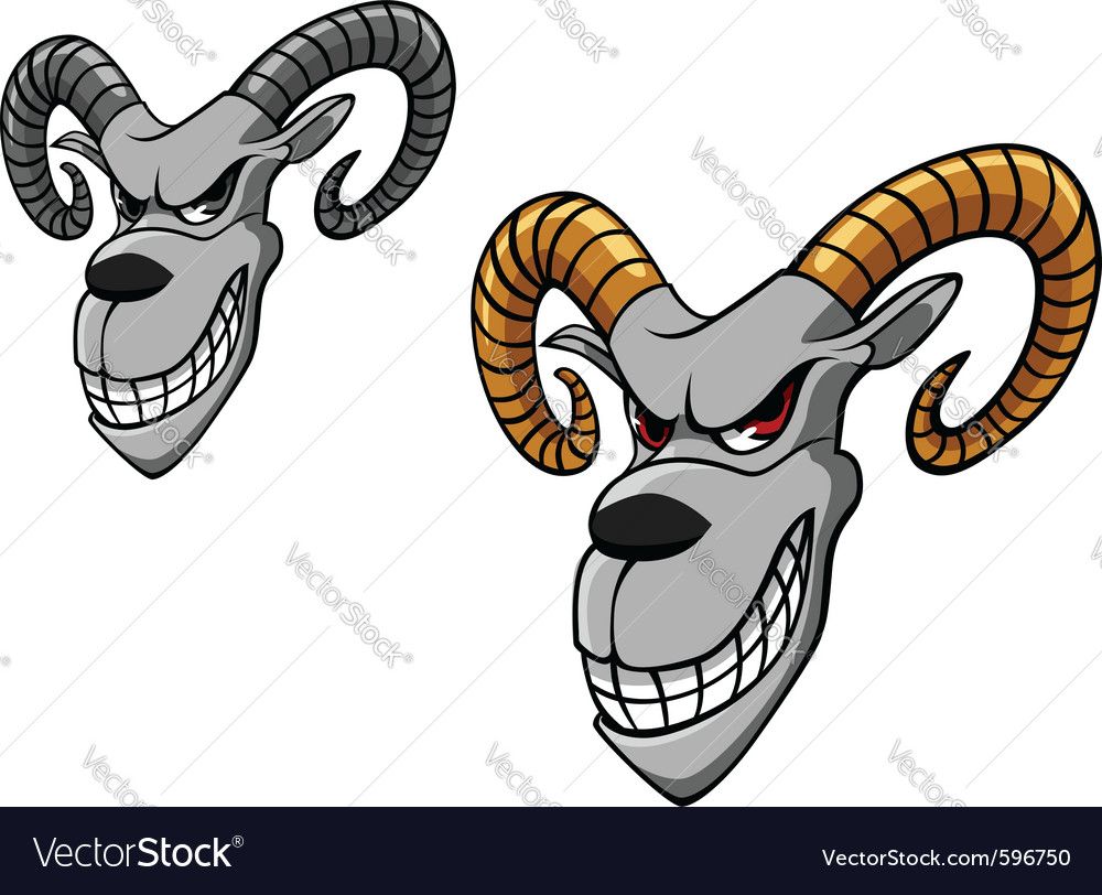 Wild goat vector | Price: 3 Credit (USD $3)