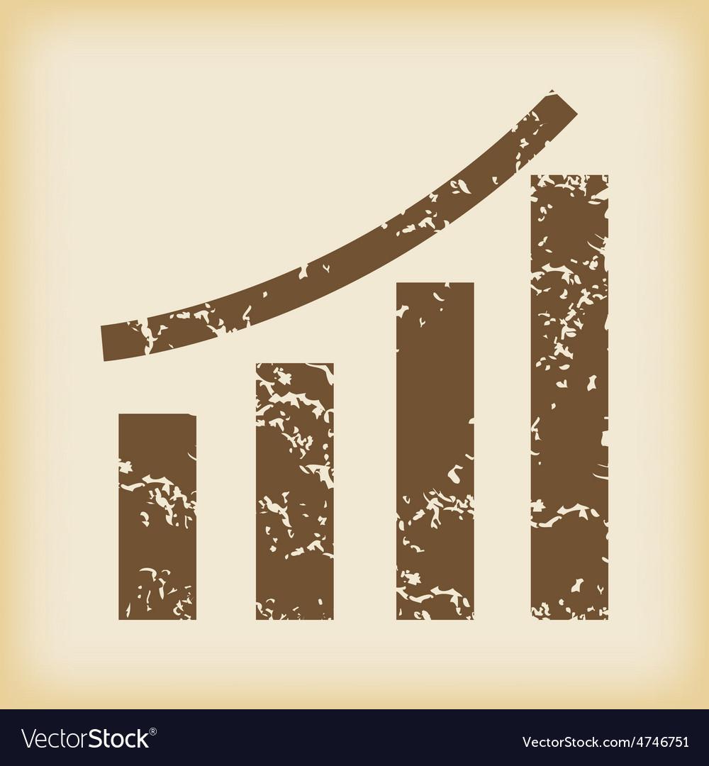 Grungy bar graphic icon vector | Price: 1 Credit (USD $1)