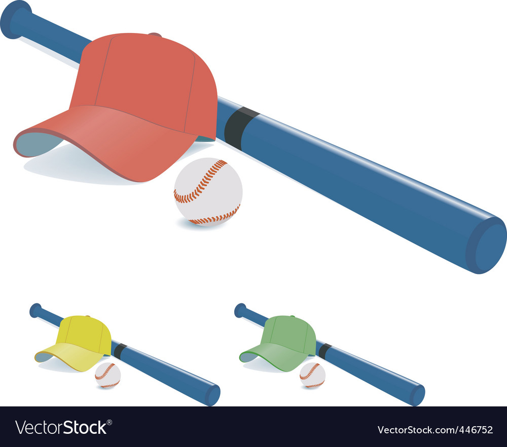Batter equipment vector | Price: 1 Credit (USD $1)