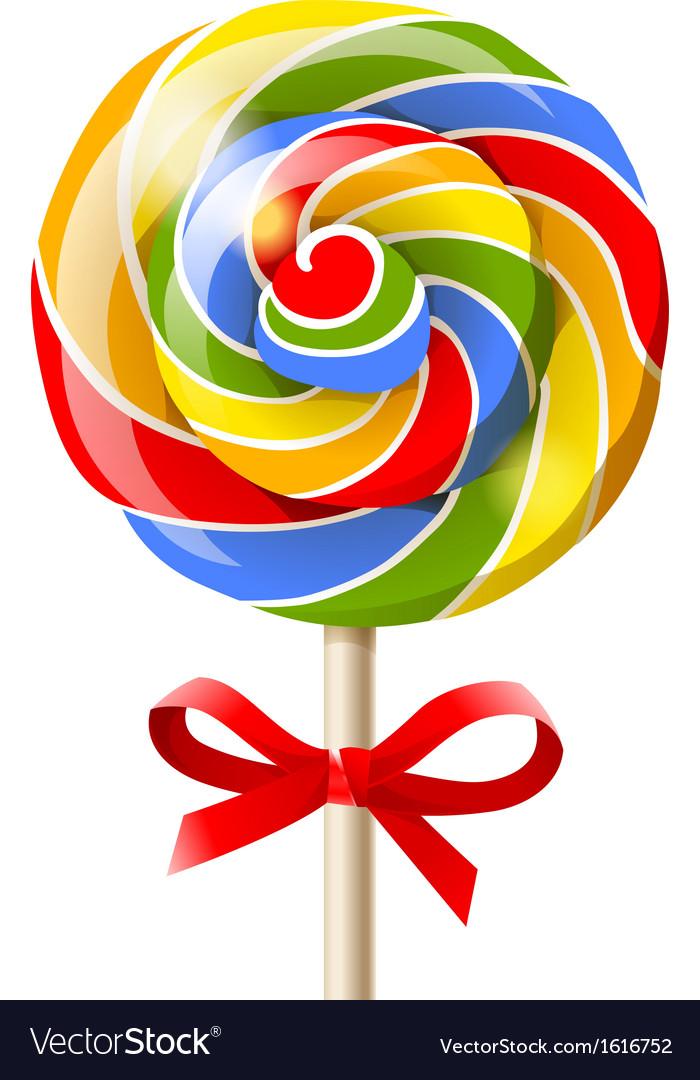 Bright lollipop vector | Price: 1 Credit (USD $1)