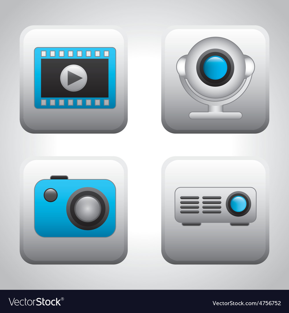 Media player vector | Price: 1 Credit (USD $1)