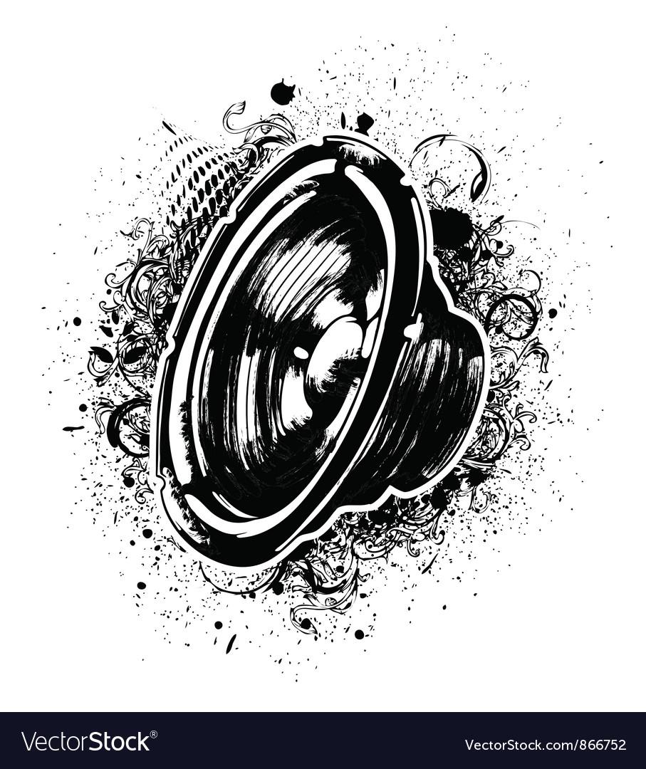 Speaker vector | Price: 1 Credit (USD $1)