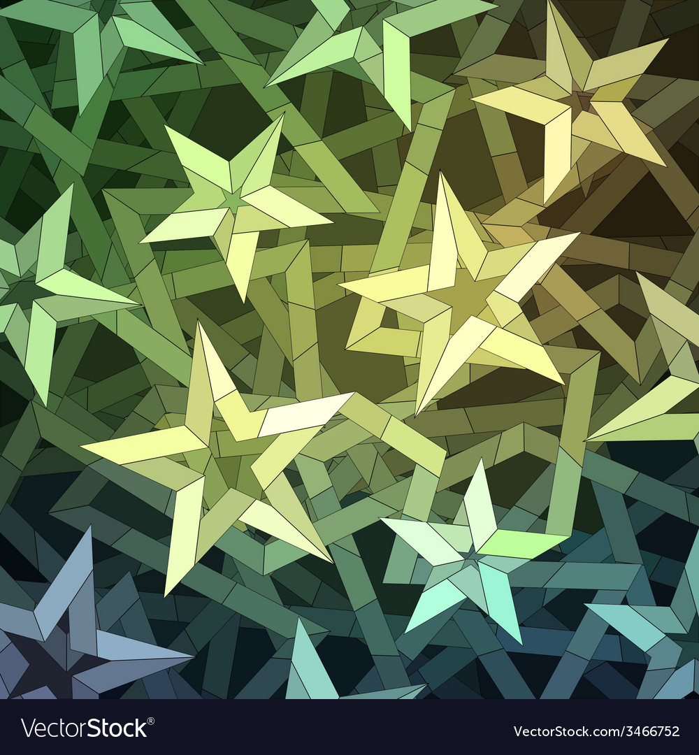 Starry christmas background vector | Price: 1 Credit (USD $1)