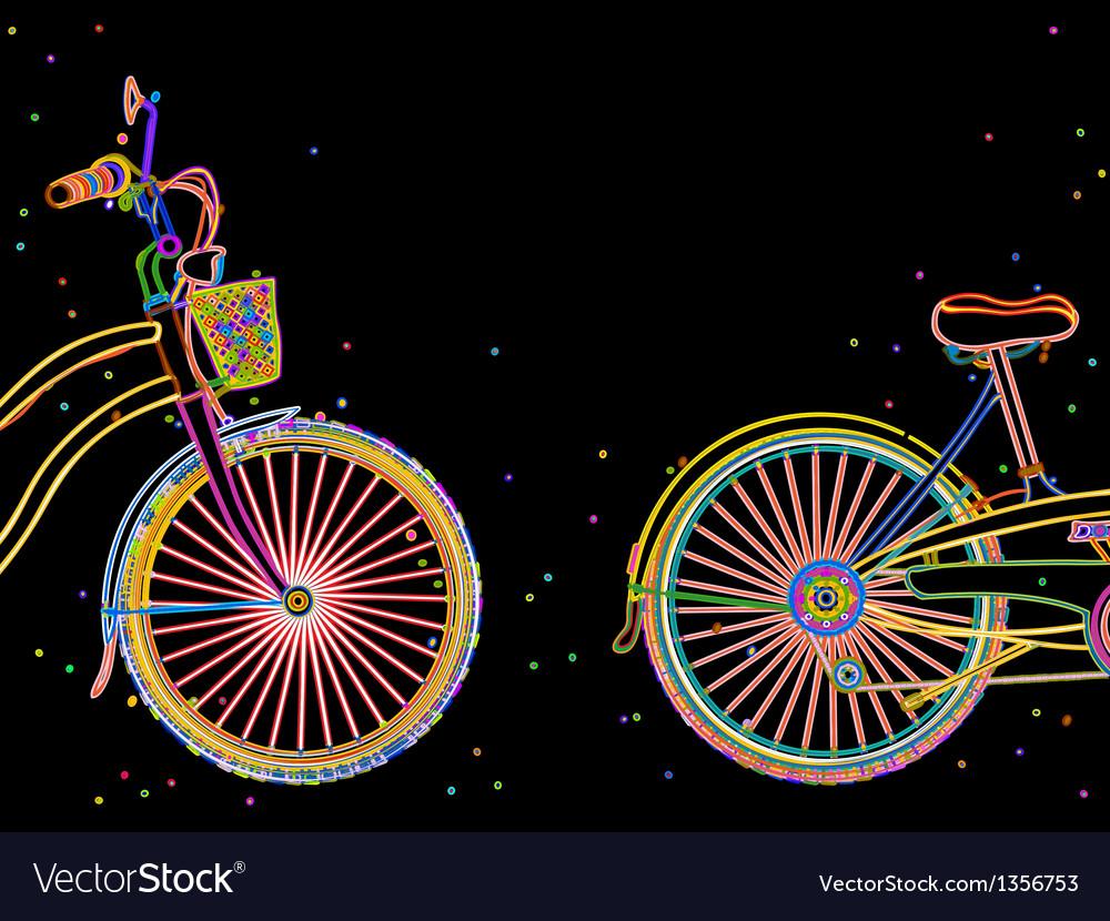 Bicycle retro design vector | Price: 1 Credit (USD $1)