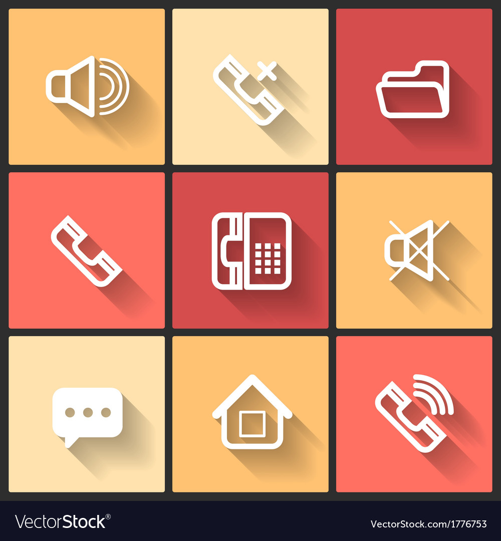 Design flat icons vector | Price: 1 Credit (USD $1)