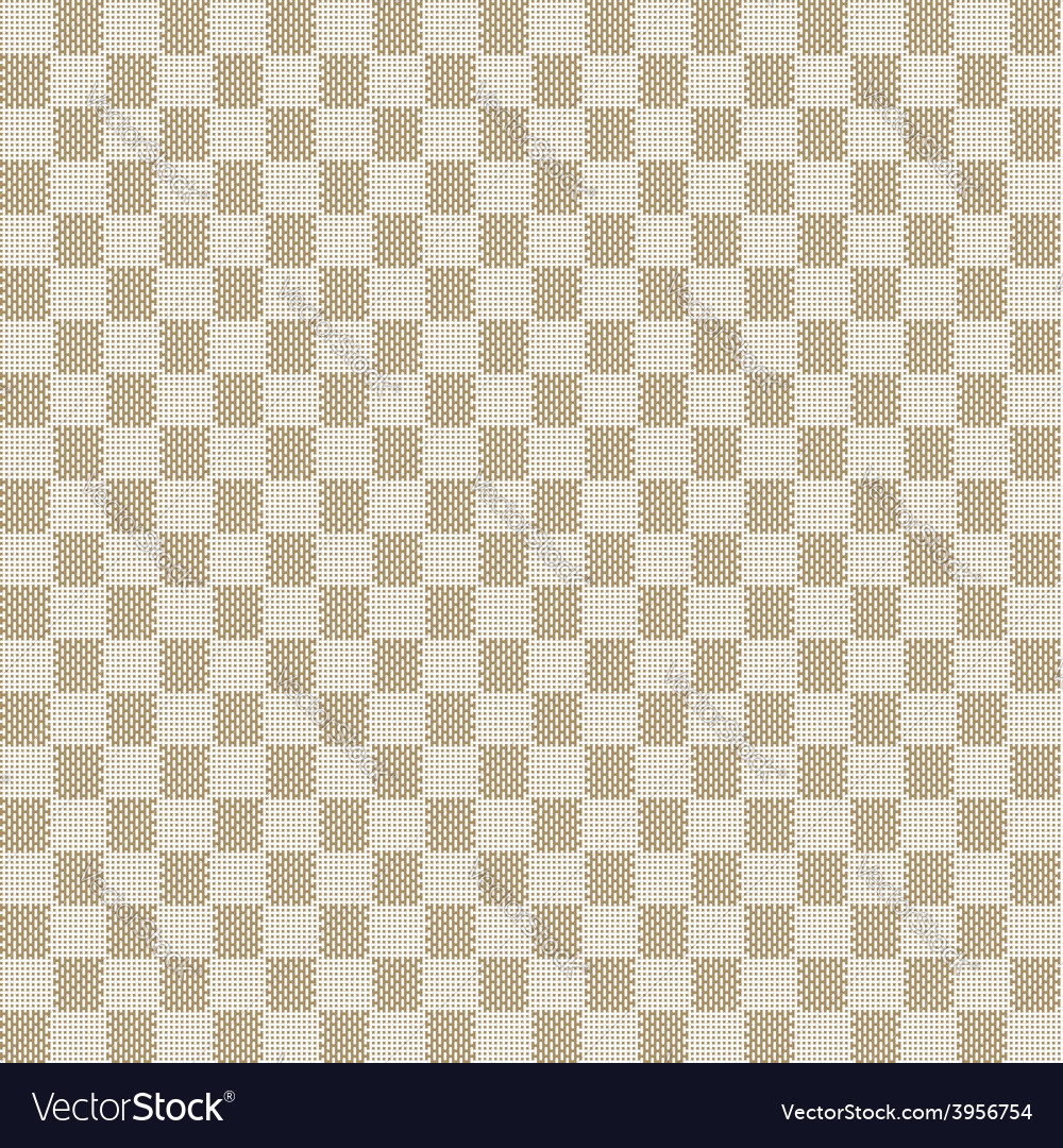 Beige seamless fabric texture pattern vector | Price: 1 Credit (USD $1)