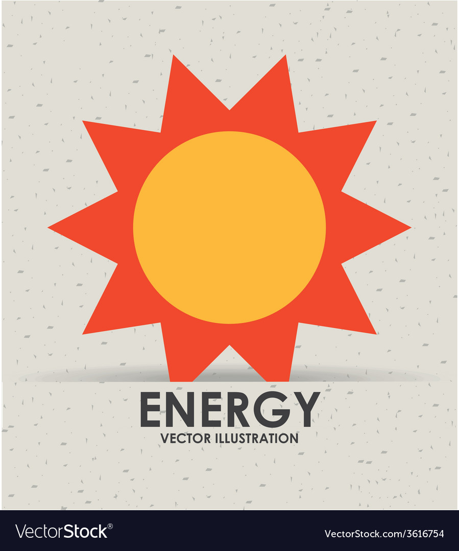 Energy icon vector | Price: 1 Credit (USD $1)