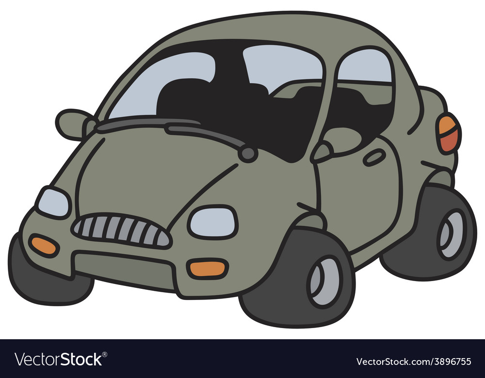 Funny car vector | Price: 1 Credit (USD $1)