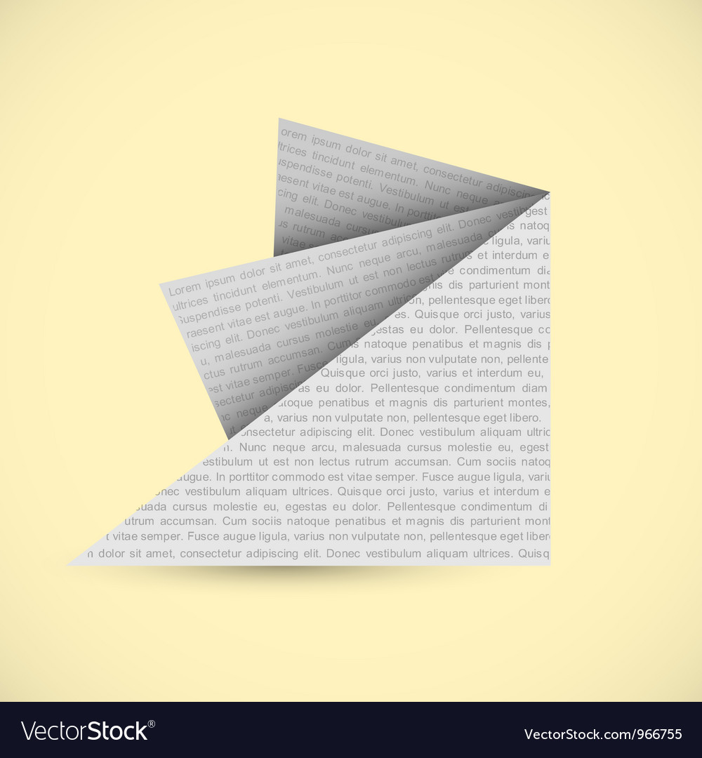 Origami paper background vector | Price: 1 Credit (USD $1)