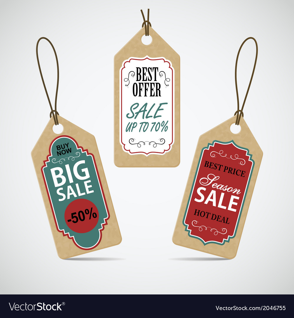 Sale labels set vector | Price: 1 Credit (USD $1)