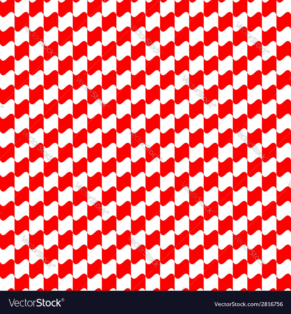 Seamless geometric pattern red color vector | Price: 1 Credit (USD $1)