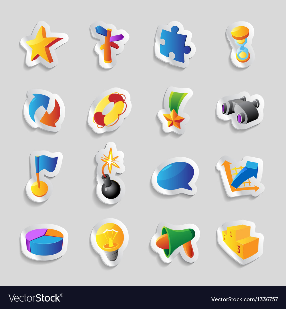 Icons for signs and metaphors vector | Price: 1 Credit (USD $1)