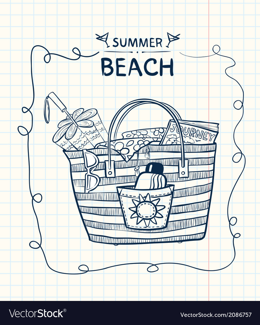 Summer gear vector | Price: 1 Credit (USD $1)