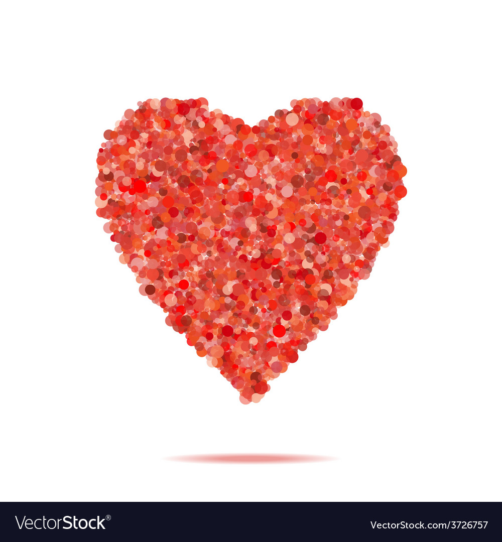 Valentines heart vector   Price: 1 Credit (USD $1)