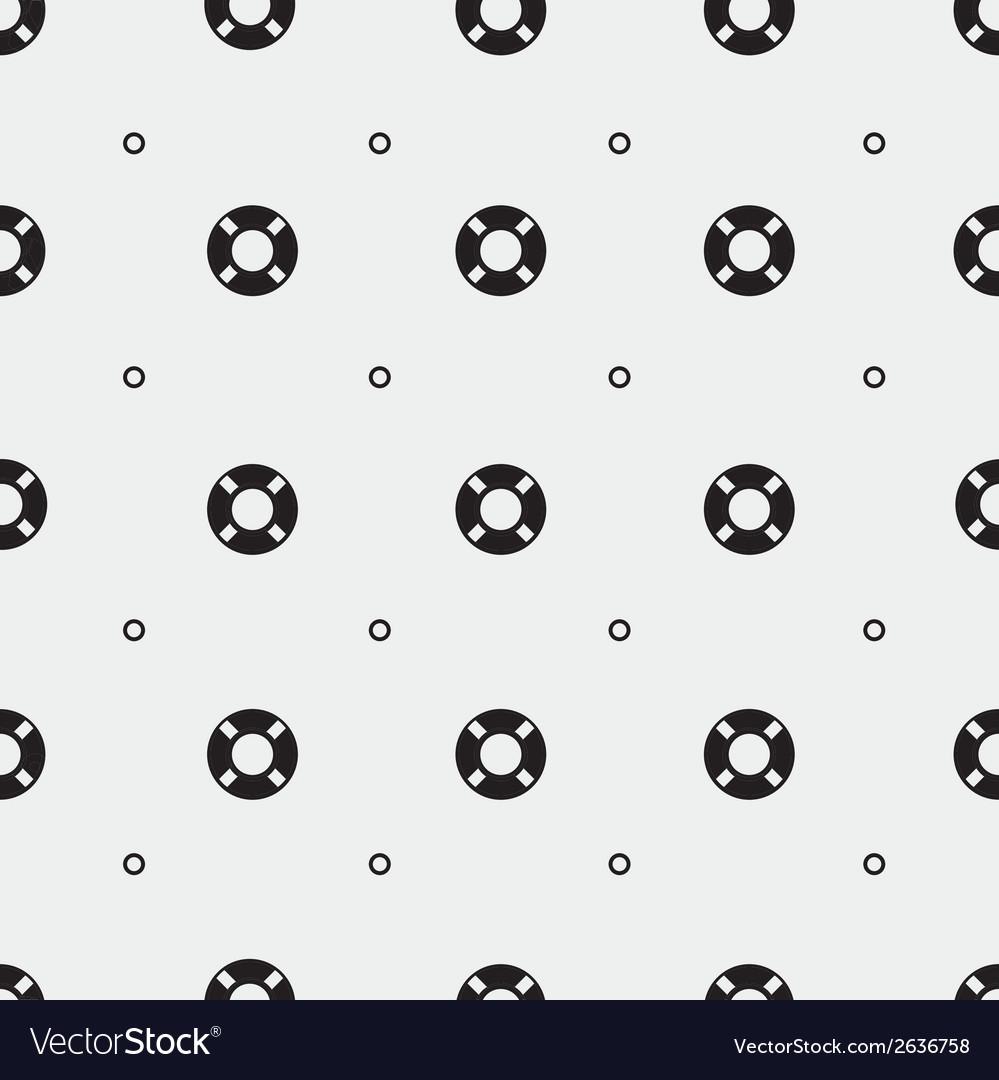 Lifebuoy pattern vector | Price: 1 Credit (USD $1)