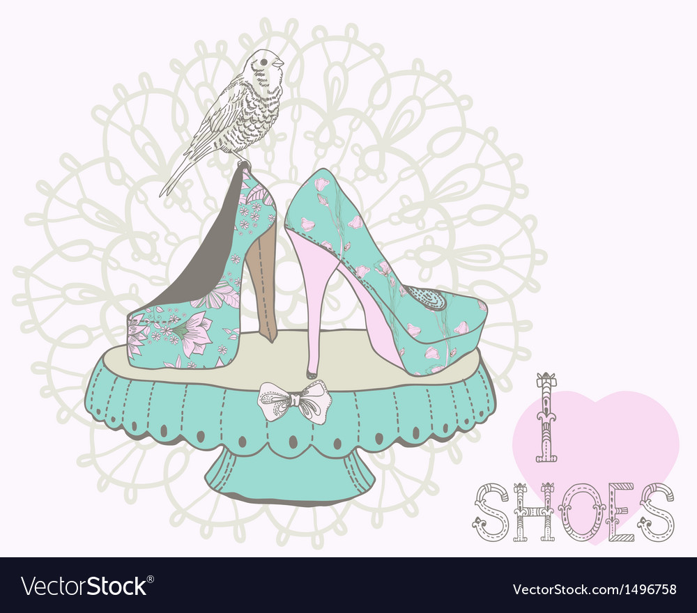 Love shoes vector | Price: 1 Credit (USD $1)