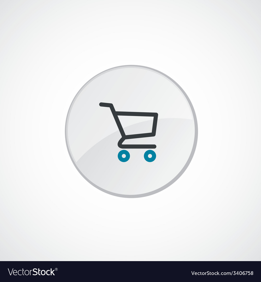 Shopping cart icon 2 colored vector   Price: 1 Credit (USD $1)