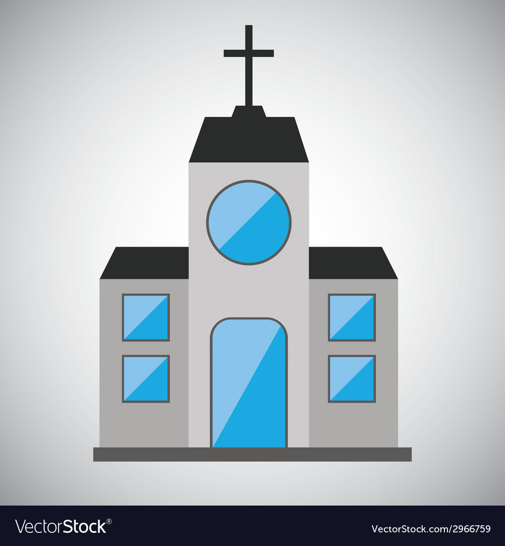 Church design vector | Price: 1 Credit (USD $1)