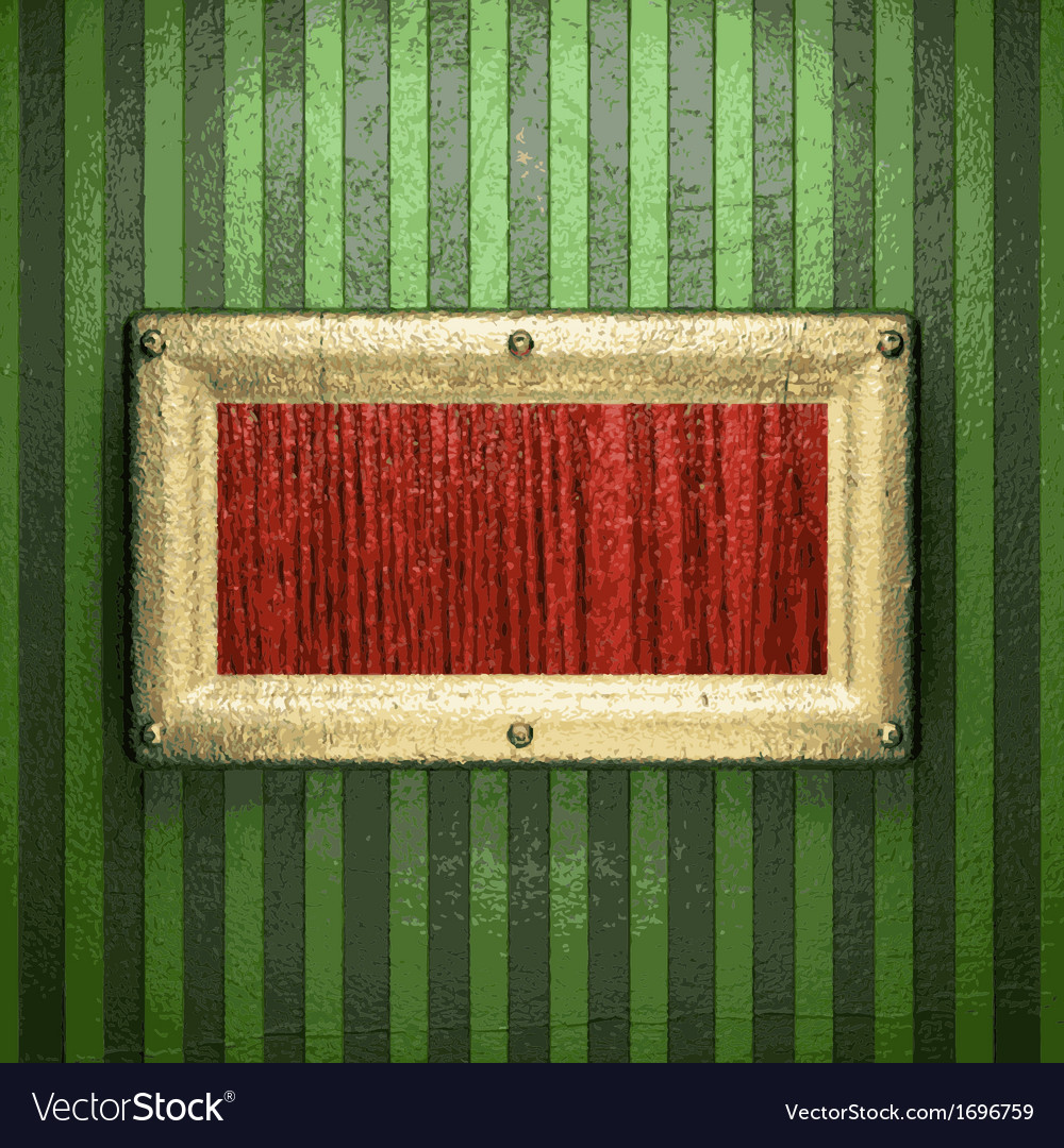 Gold on green background vector | Price: 1 Credit (USD $1)
