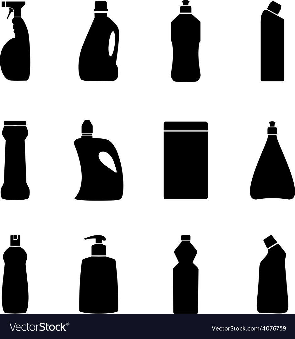 Household chemistry vector | Price: 1 Credit (USD $1)