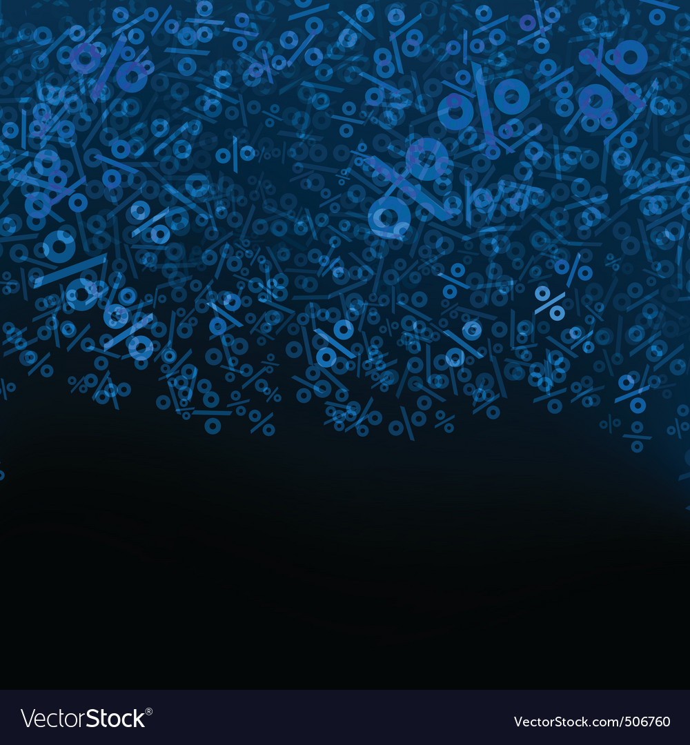 Ct percent vector background eps 8 vector | Price: 1 Credit (USD $1)