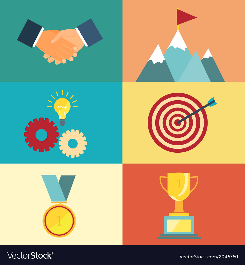 Leadership and success vector | Price: 1 Credit (USD $1)
