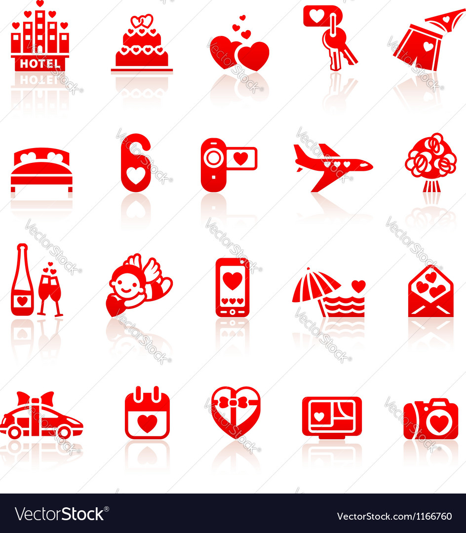 Set valentines day romantic travel vector | Price: 1 Credit (USD $1)