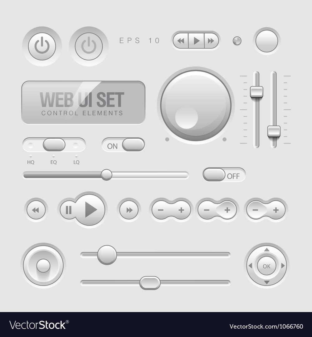 Web ui elements vector | Price: 1 Credit (USD $1)