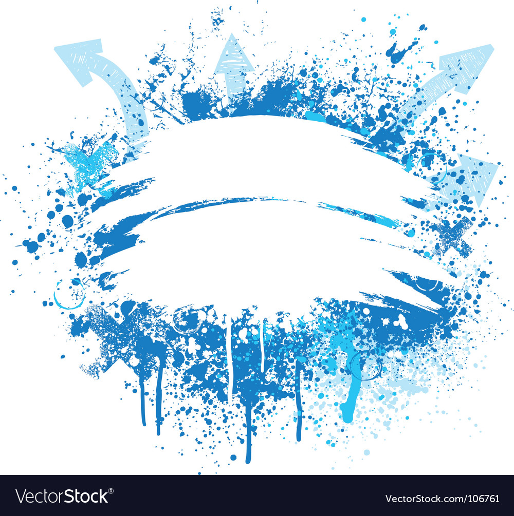 Blue and white grunge design vector | Price: 1 Credit (USD $1)