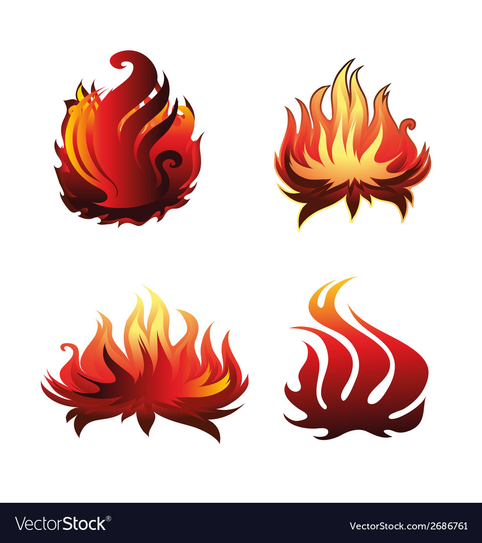 Fire icon vector | Price: 1 Credit (USD $1)