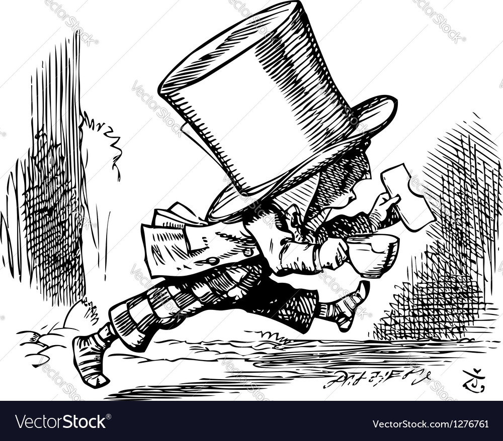 Mad hatter vector | Price: 1 Credit (USD $1)