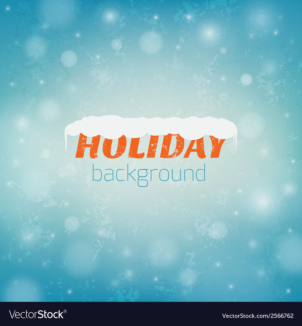 Blurred christmas background with bokeh and vector | Price: 1 Credit (USD $1)