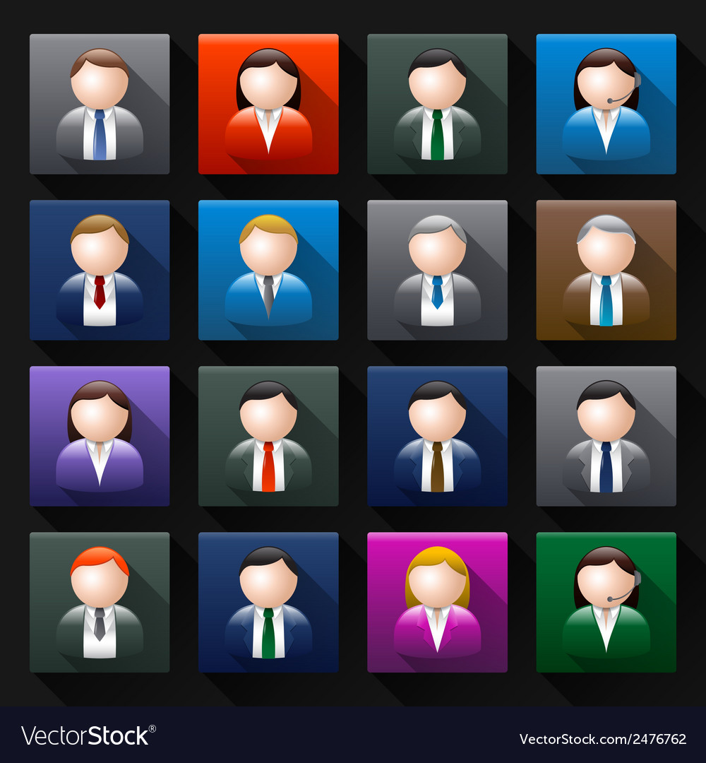 Business avatar vector | Price: 1 Credit (USD $1)