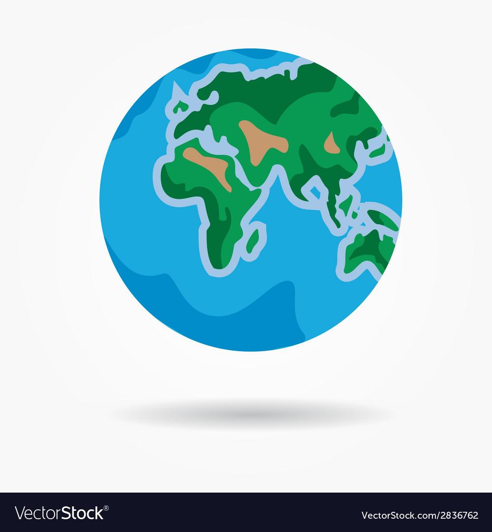 Earth vector | Price: 1 Credit (USD $1)