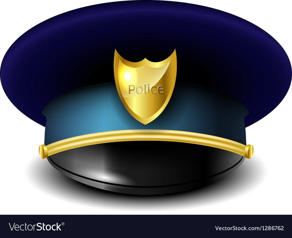 Police hat vector | Price: 3 Credit (USD $3)