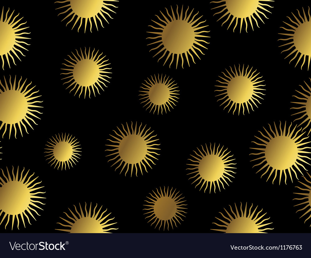 Aztec sun pattern vector | Price: 1 Credit (USD $1)