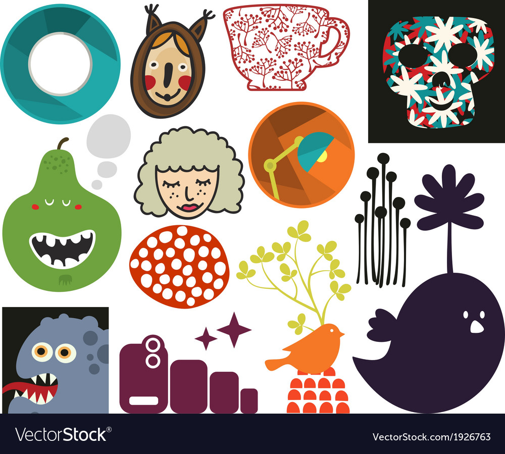 Mix of different images vol73 vector | Price: 1 Credit (USD $1)