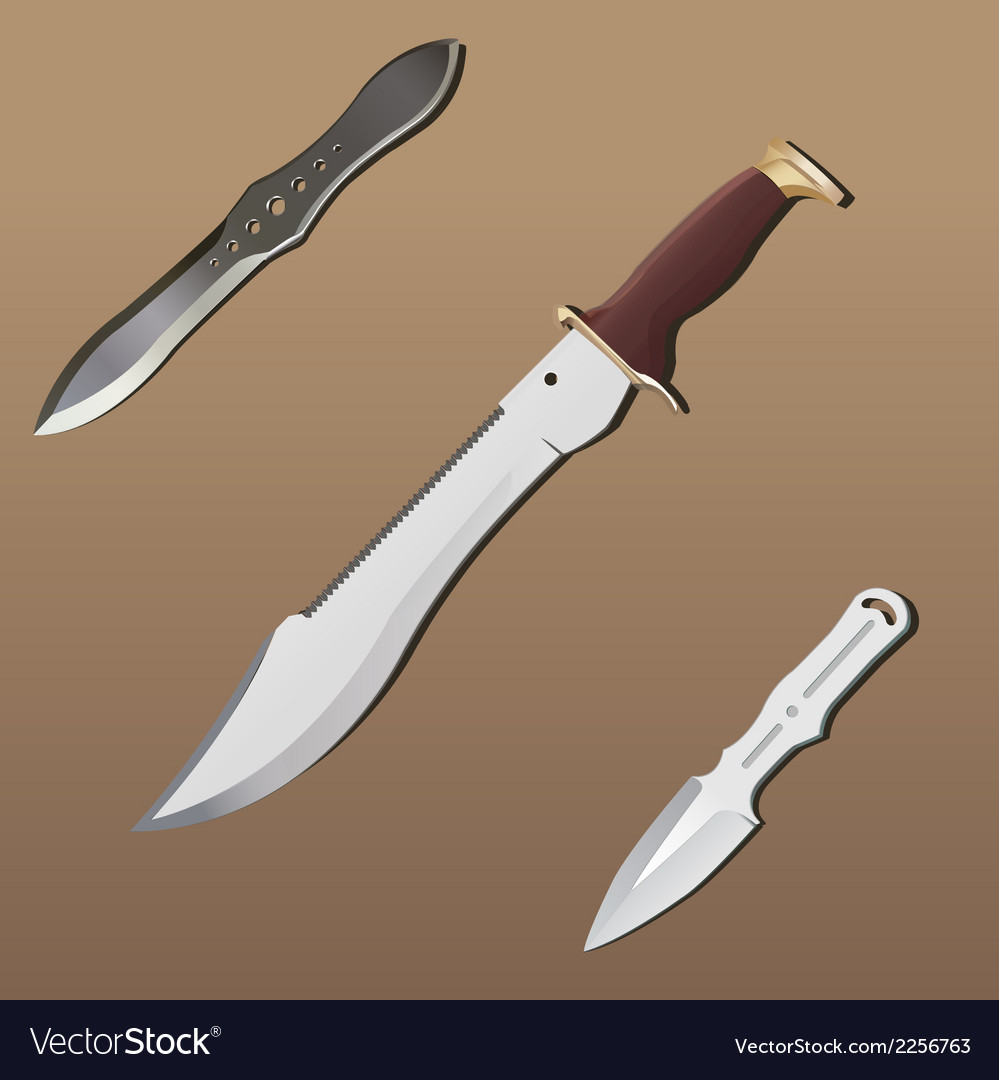 Realistic weapon set - part 2 vector | Price: 1 Credit (USD $1)