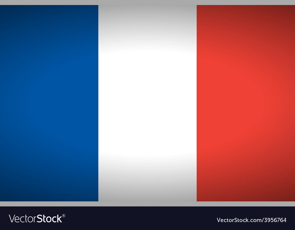 Flag of france vector | Price: 1 Credit (USD $1)