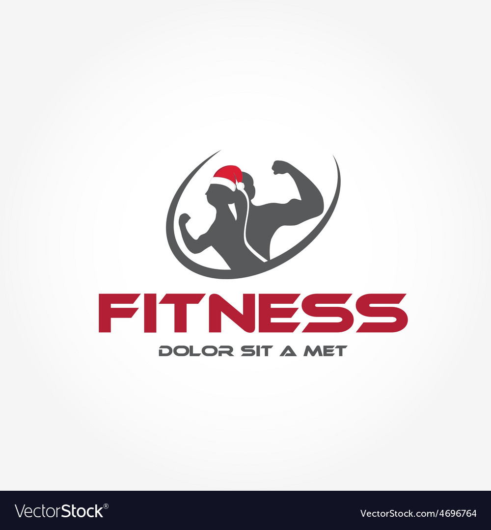 Man and woman of fitness silhouette character with vector | Price: 1 Credit (USD $1)