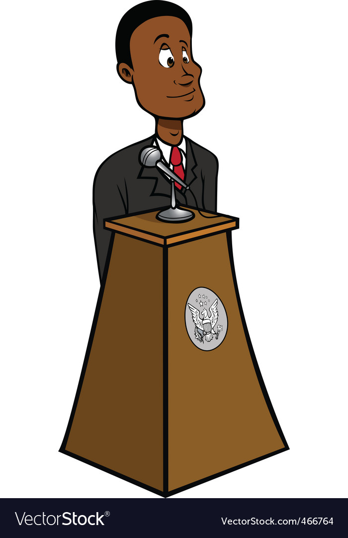 President black vector | Price: 1 Credit (USD $1)