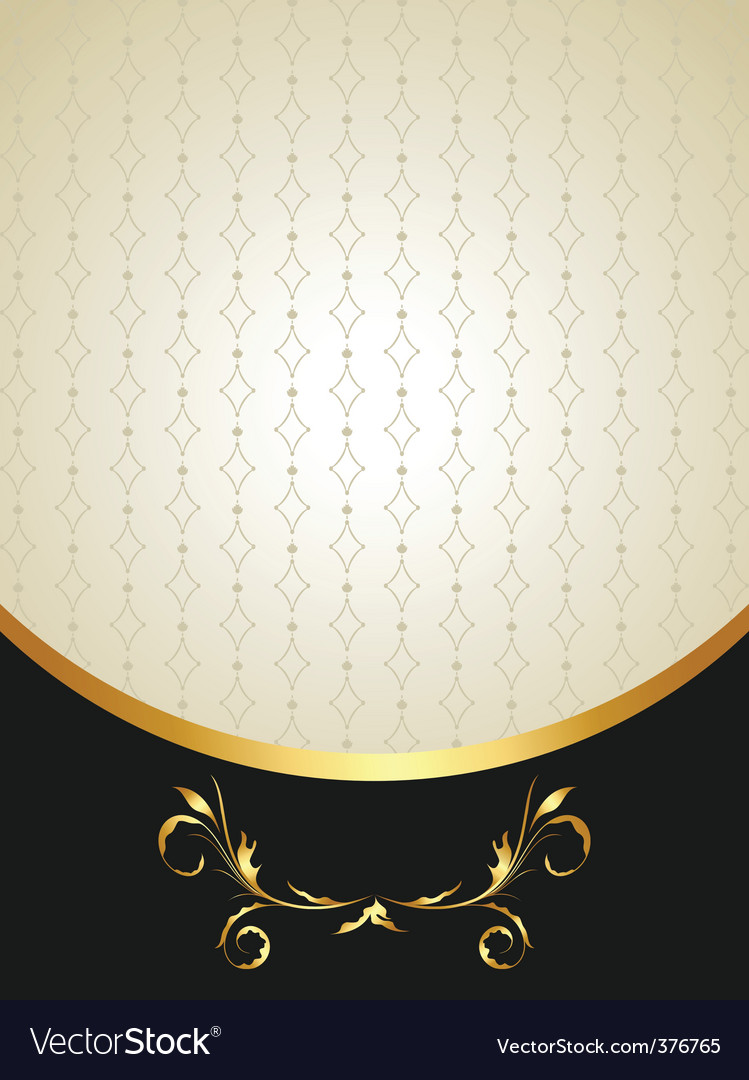 Illustration luxury background for invitation vector | Price: 1 Credit (USD $1)