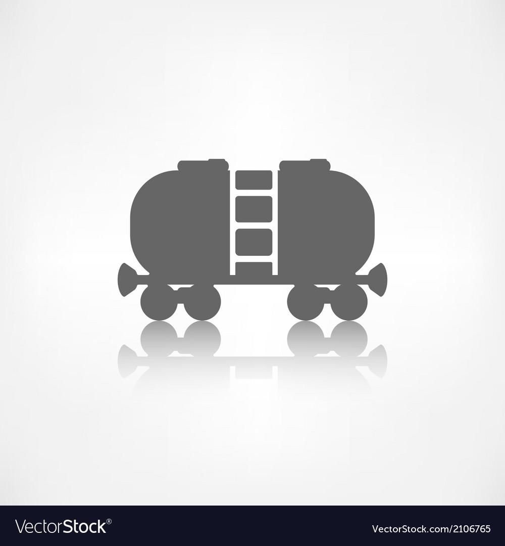 Oil tank icon vector | Price: 1 Credit (USD $1)